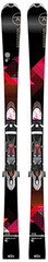Skis - pack noir - pistes Lady